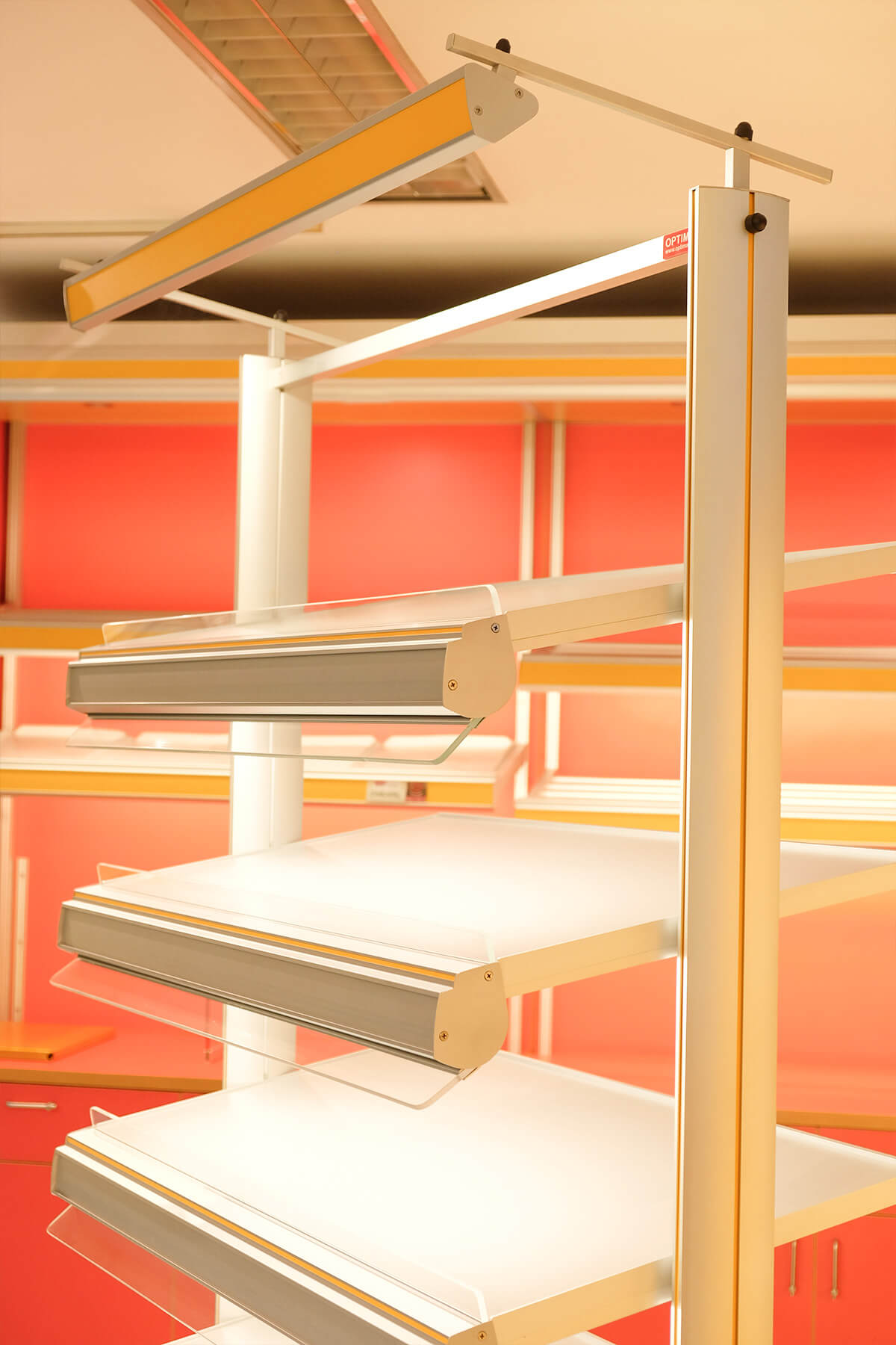 Optima T6 Shelves